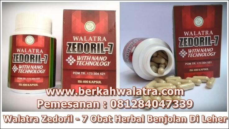 obat benjolan di leher walatra zedoril 7