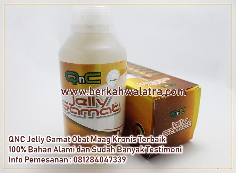 Obat maag kronis yang pertama yang kami rekomendasikan adalah QNC Jelly Gamat.