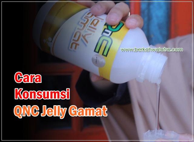 cara konsumsi qnc jelly gamat