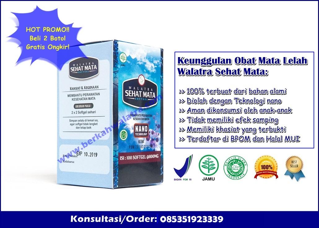 Obat Mata Lelah Herbal Legalitas BPOM √ 100% Alami Dan Aman