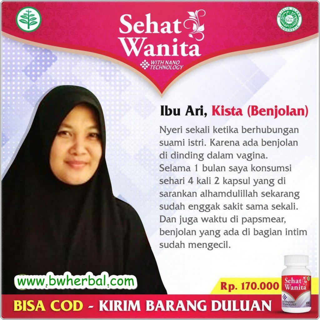 Sehat Wanita Kapsul Formulasi Herbal Khusus Untuk Masalah Kewanitaan