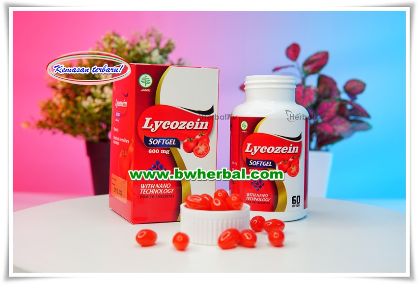 Lycozein Softgel Asli Obat Herbal Prostat With Nano Technology