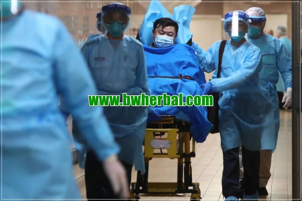 penderita virus corona (COVID-19)
